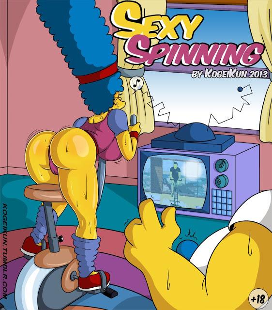 Sexo de los Simpson en el salon