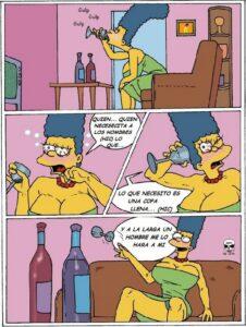 Valentine Hole | Los Simpson Porno