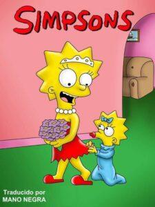 Mariage Simpson 第 Le porno Simpson[