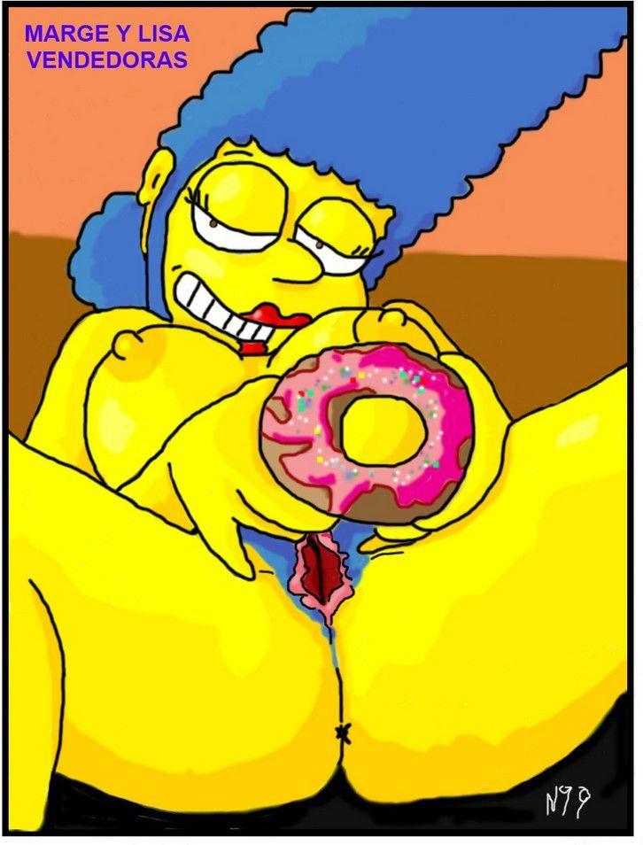 Galletas a la venta | Los Simpson Porno