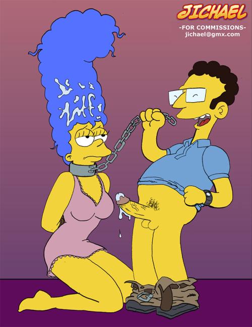 Marge desnuda follando con Artie Zif