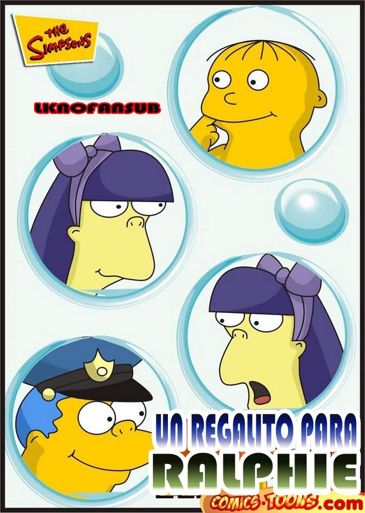 Un Regalito pour Ralphie 第 The Simpsons Porn[