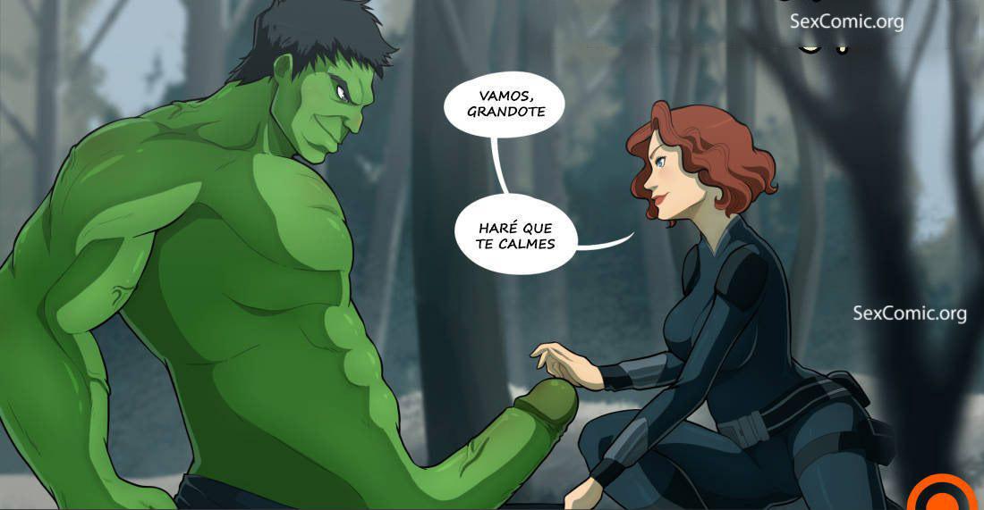 comic xxx los vengadores era de ultron marvel xxx