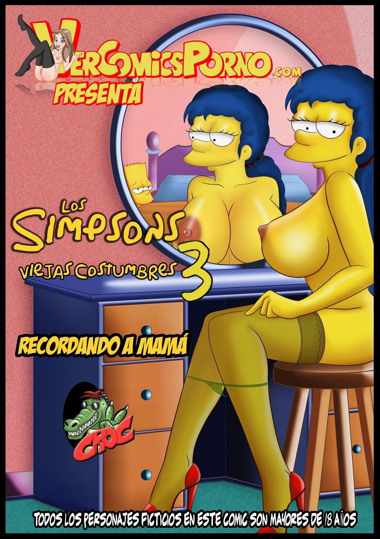 Anciennes coutumes 3 љ Le Simpson Porno[