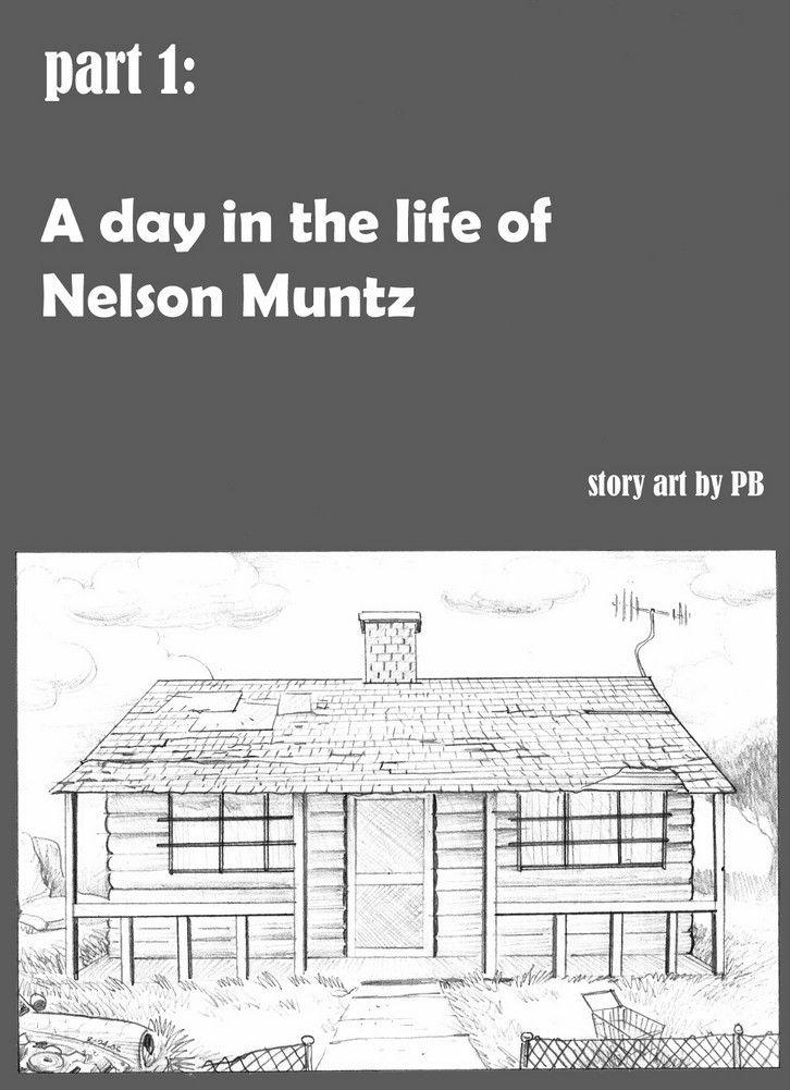 Une journée dans la vie de Nelson Muntz[