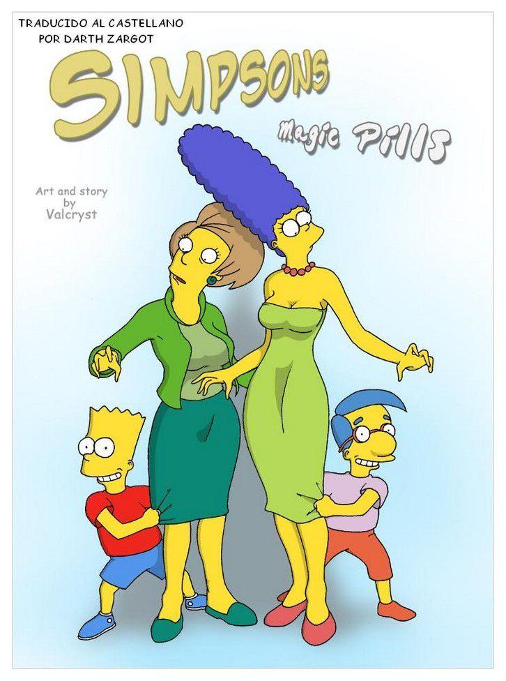 Pilules magiques |  Les Simpsons Porno[